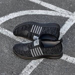 Мокасины мужские KR-942 чёрные