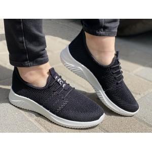 Кроссовки женские Чёрные Крок