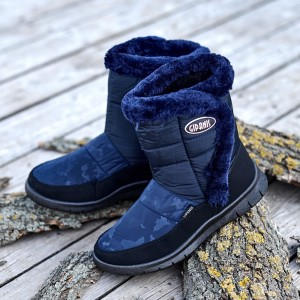 Ботинки Женские 127 синие