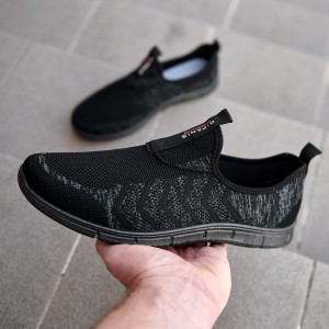 Мокасины мужские 938 чёрные