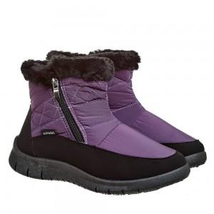 Ботинки Женские 123 фиолет