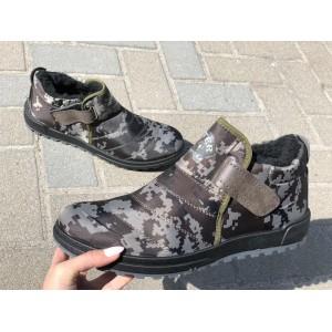 Ботинки мужские  10-05 хаки