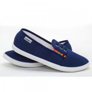 Мокасины женские S 14 Синие