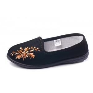 Туфли домашние Трикотаж с вишивкой