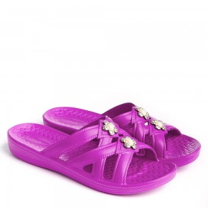 Шлепанцы женские DS-57 фиолет