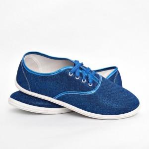 Мокасины женские S 514 синий
