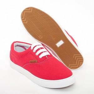 Вансы женские VS-701 красные