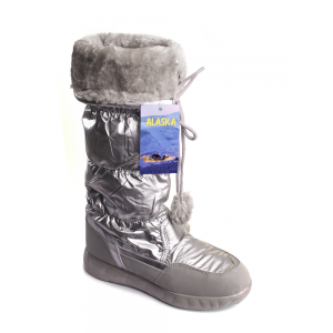 Дутики Аляска 2617-2 Серебряные