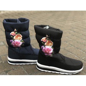 Сапоги женские Цветок